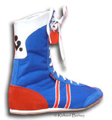 clcik here to see mixed colour cambrelle boxing boot