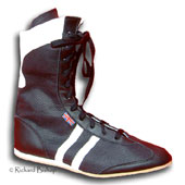 Click here to see classix black cambrelle boxing boots