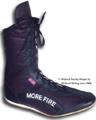 clcik here to see the more fire black cambrelle boxing boots