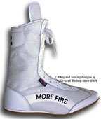 clcik to see more about the white more fire cambrelle boxing boot