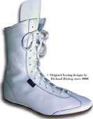 click here  to se the new white leather boxing boot