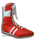 Click here to see classic red cambrelle boxing boots